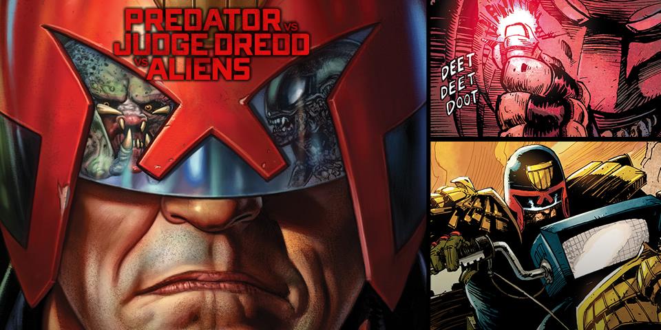 Aliens vs. Dred vs. Predator